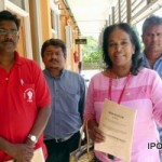 PSM Protests to State Election Commission