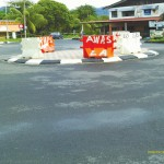 Mini Roundabout Ease Traffic Flow in Kampong Manjoi