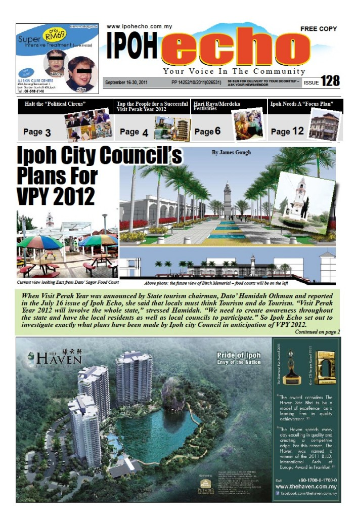Cover of Ipoh Echo Issue 128