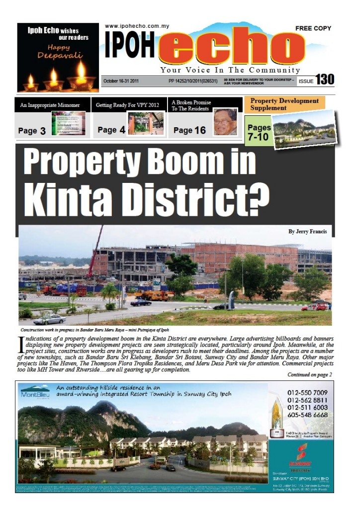 Cover of Ipoh Echo Issue 130