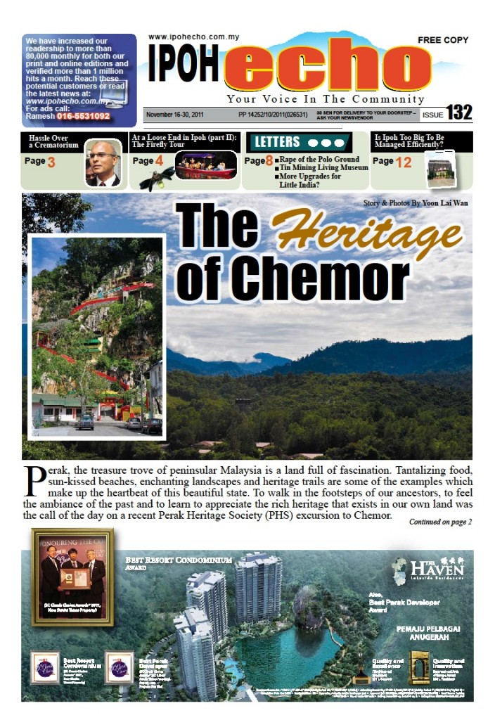 Cover of Ipoh Echo Issue 132