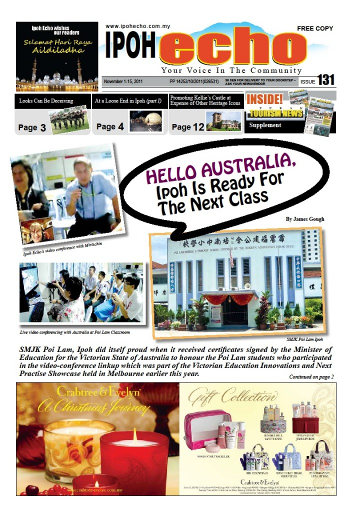 Cover of Ipoh Echo Issue 131