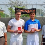 Dato Hj Ahmad Jaafar-Lee KamBoon with Singles Champ and RunnerUp