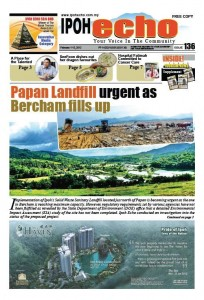 Cover of Ipoh Echo Issue 136