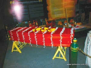 Coffin and Funeral Exhibition - Visit Perak Year 2012