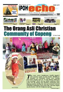 Cover of Ipoh Echo Issue 137