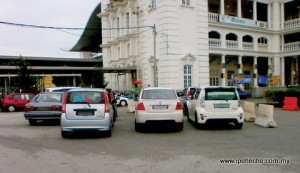 Parking problem at the Ipoh Railway Station