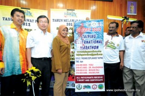 ipoh echo issue 140, perak tourism news 8, Taiping Marathon 2012