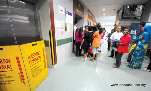 Saga of the Broken Hospital Lifts, Hospital Raja Permaisuri Bainun
