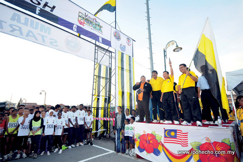 perak tourism news volume 9, ipoh echo issue 142, teluk intan run