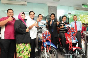 ipoh echo issue 142, MBI lucky draw