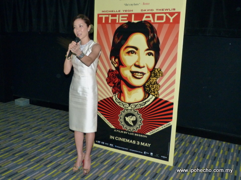 Michele Yeoh - The Lady movie - Aung San Suu Kyi