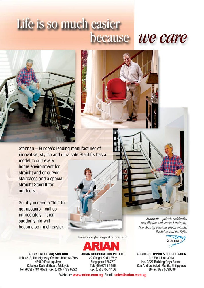 Arian - Stannah - stairlifts