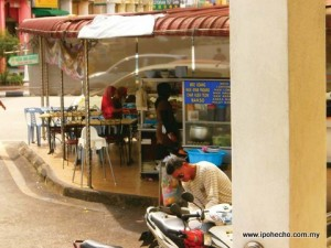 ipoh echo issue 143, eating stall obstruction