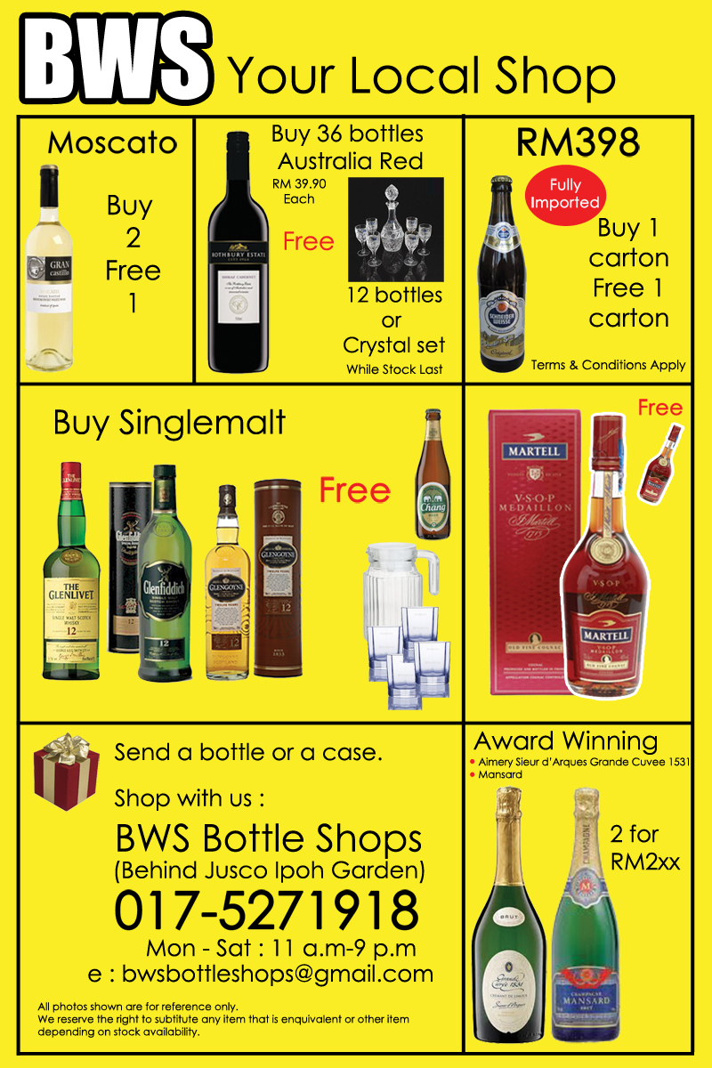 Ipoh wine and liquor