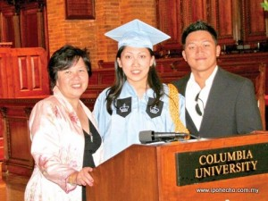 Jacqueline Thong - Columbia University New York - Bachelor of Arts in Sustainable Development