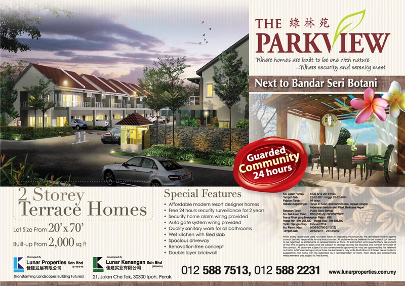 The Parkview - Lunar Properties - Ipoh property