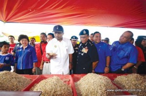 crime prevention, Perak Police Contingent