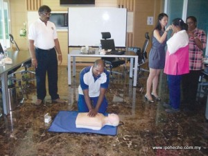 Basic First-Aid and Cardio Pulmonary Resuscitation (CPR) course